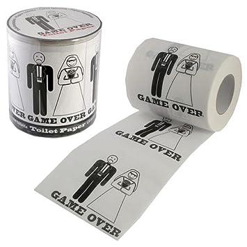 Fun Daisy Rouleau De Papier Toilette Game Over Cadeau De