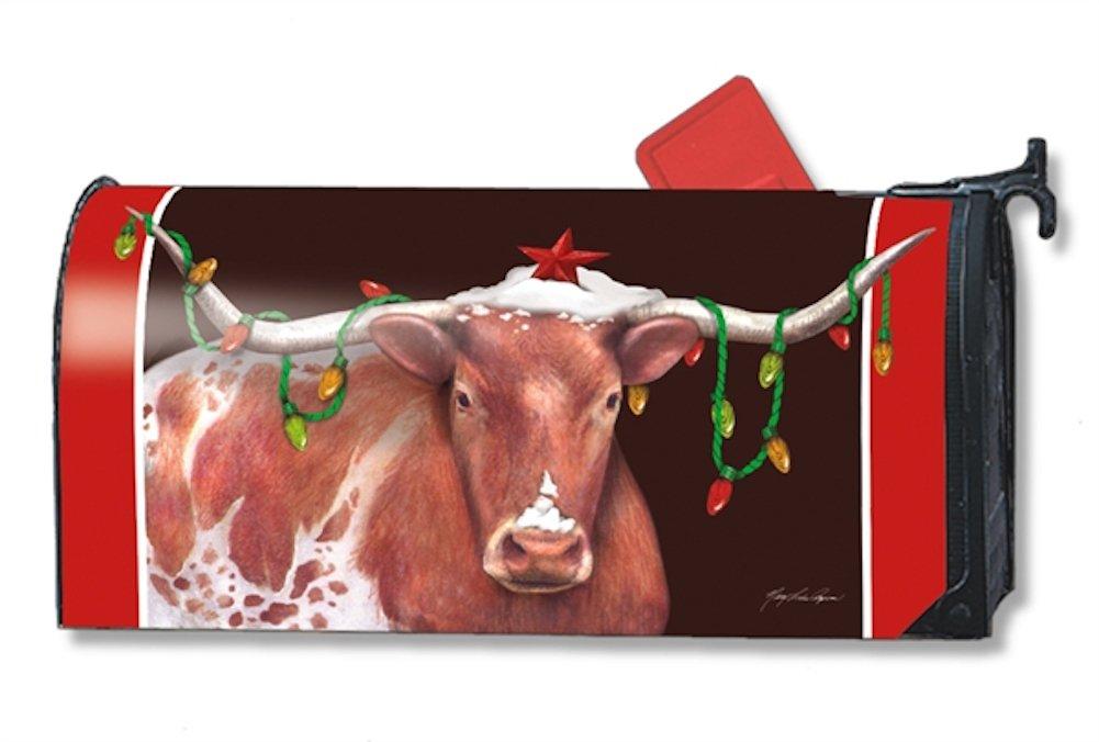 MailWraps Cowboy Christmas Mailbox Cover #01247