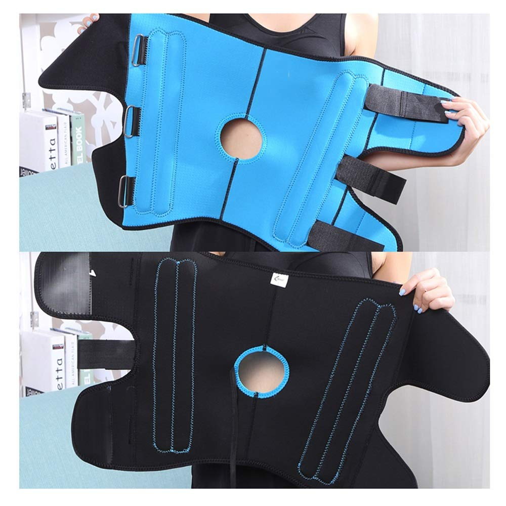 Leg Straightener Straps To Correct O/X Type Leg Correction Belt Band Beauty Leg Straighten Tape Bandage Adjustable Double Belt Strap Fixing (Color : Blue, Size : S) by Sharon (Image #5)
