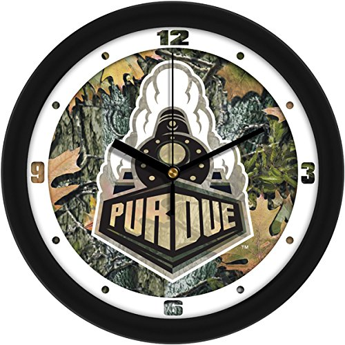 (SunTime NCAA Purdue Boilermakers Wall Clock - Camo)