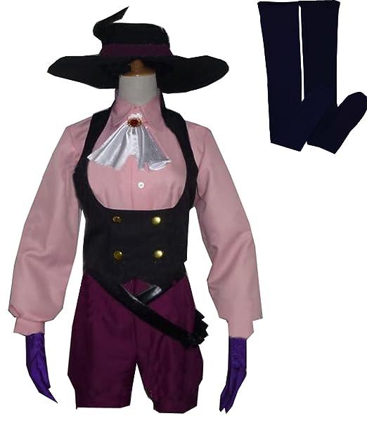 Amazon.com: cosnew Halloween Haru Okumura trajes uniforme ...