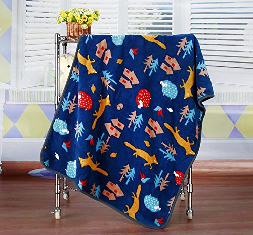 Happy- little -bear Premium SOFE Fleece Pet Bed Blankets Piccolo Cane o Coperta di Gatto