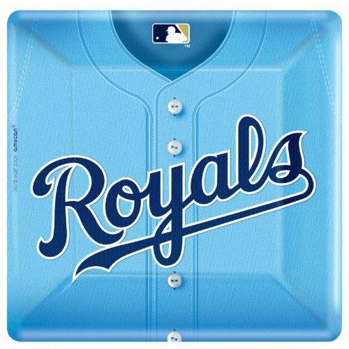 Amscan - Kansas City Royals Baseball Square Banquet Dinner