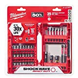 Milwaukee 48-32-4007 Shockwave Impact Duty Driver Bit Set (35-Piece) (Pack of 1)