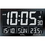 Technoline WS8007 Horloge Radio- Pilotée Noir