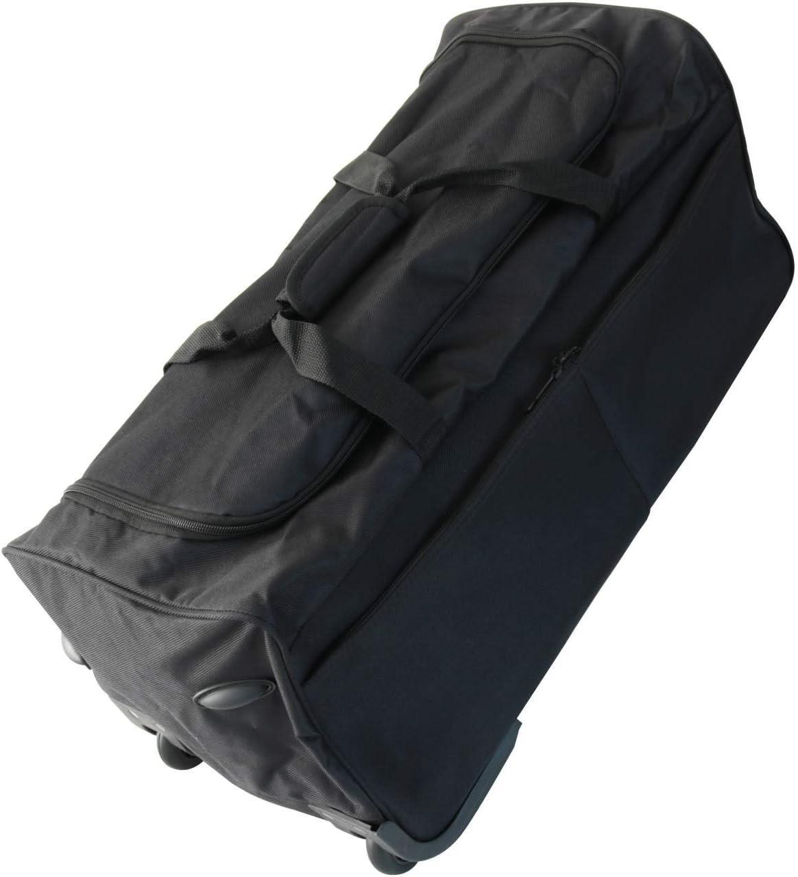 80 L 70 cm PM Euro-Trading Brooklyn Trolley Bag Organiser Black