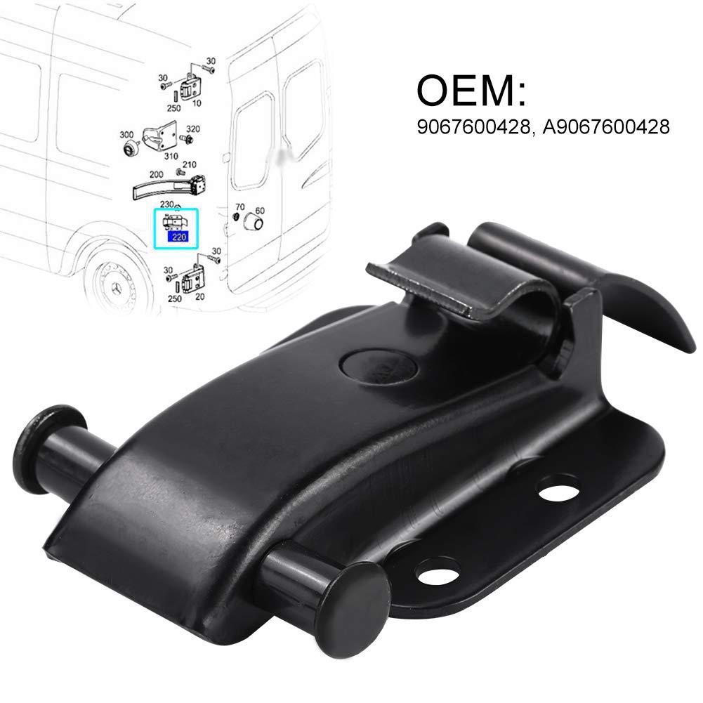 localizzatore cinghia controllo cerniera porta posteriore Broco Localizzatore supporto cinghia porta posteriore localizzatore staffa porta posteriore per M-ercedes Sprinter//06-19 Crafter 30-35 06-14