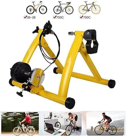 Bike Turbo Trainer Magnético Soporte De Ciclismo, Entrenador De Bicicleta Ejercicio Fitness Training Interior Estacionario Marco De Soporte De Ejercicio Aptitud Ajustable USA Tu: Amazon.es: Hogar