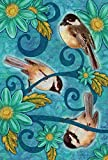 Toland Home Garden Chickadees House Flag, Large