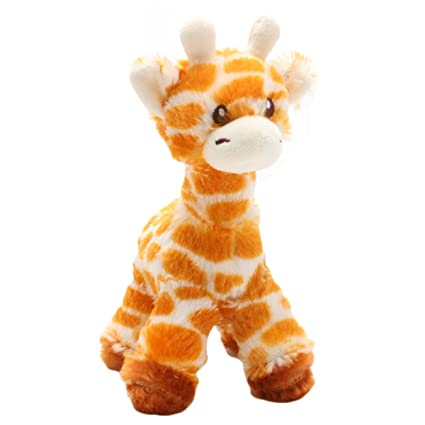 Amazon Com Levenkeness Giraffe Stuffed Animal Plush 7 8 Inch Soft