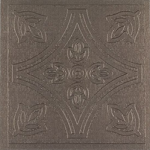 - Park Avenue Collection 4x4 Wall Tile - Metallo 303 Pewter