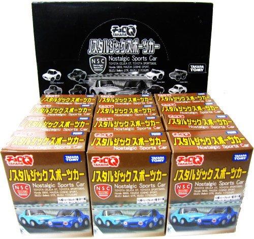 タカラトミー チョロQ ノスタルジックスポーツカー 12個入ブラインドボックス B003AQ0X8K