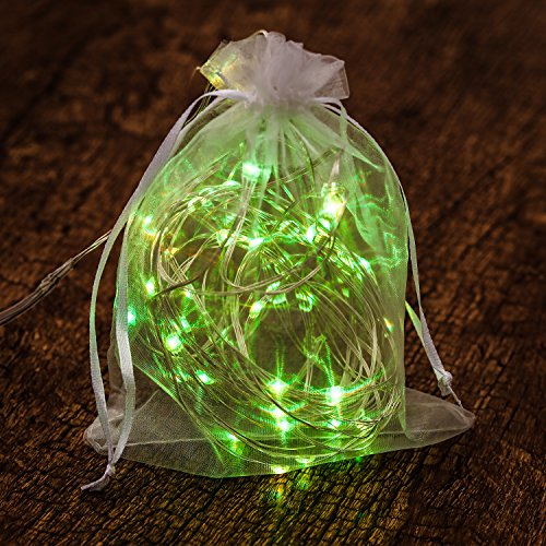Kohree LED String Lights,USB Powered Multi Color Changing String Lights with Remote,50leds Indoor Decorative Silver Wire Lights for Bedroom,Patio,Outdoor Garden,Stroller,DecorTree.(16.4ft) by Kohree (Image #6)