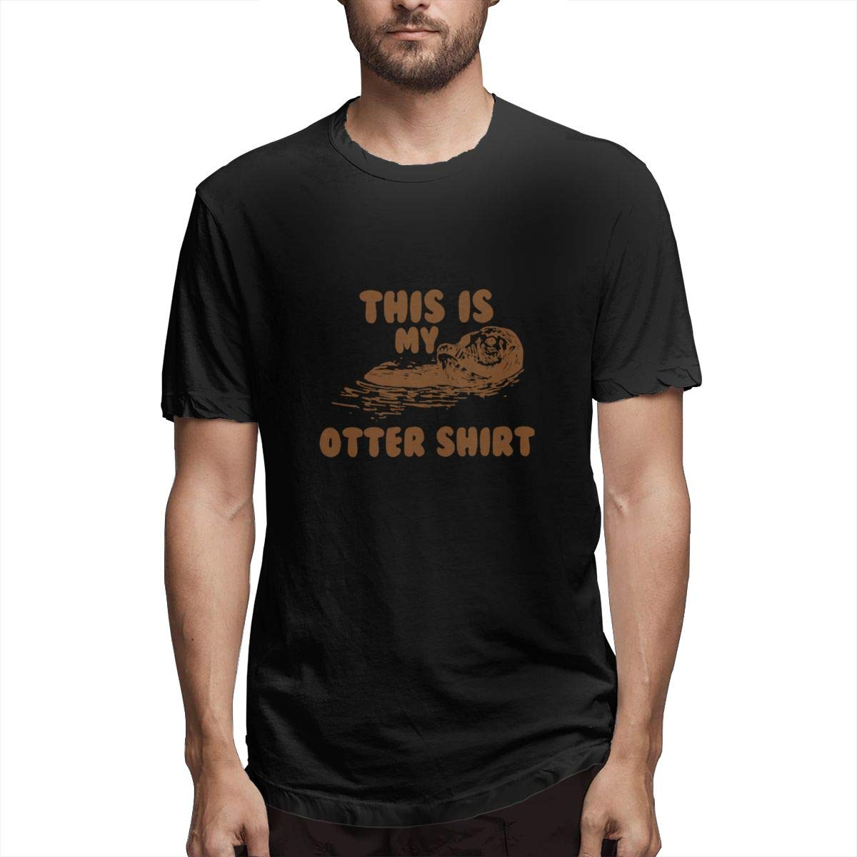 Seuriamin This is My Otter Classic Mens Tee