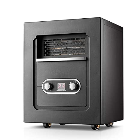 GLJY Calentador eléctrico portátil, Estufa de Chimenea doméstica, silenciamiento de calefacción de 2000W para