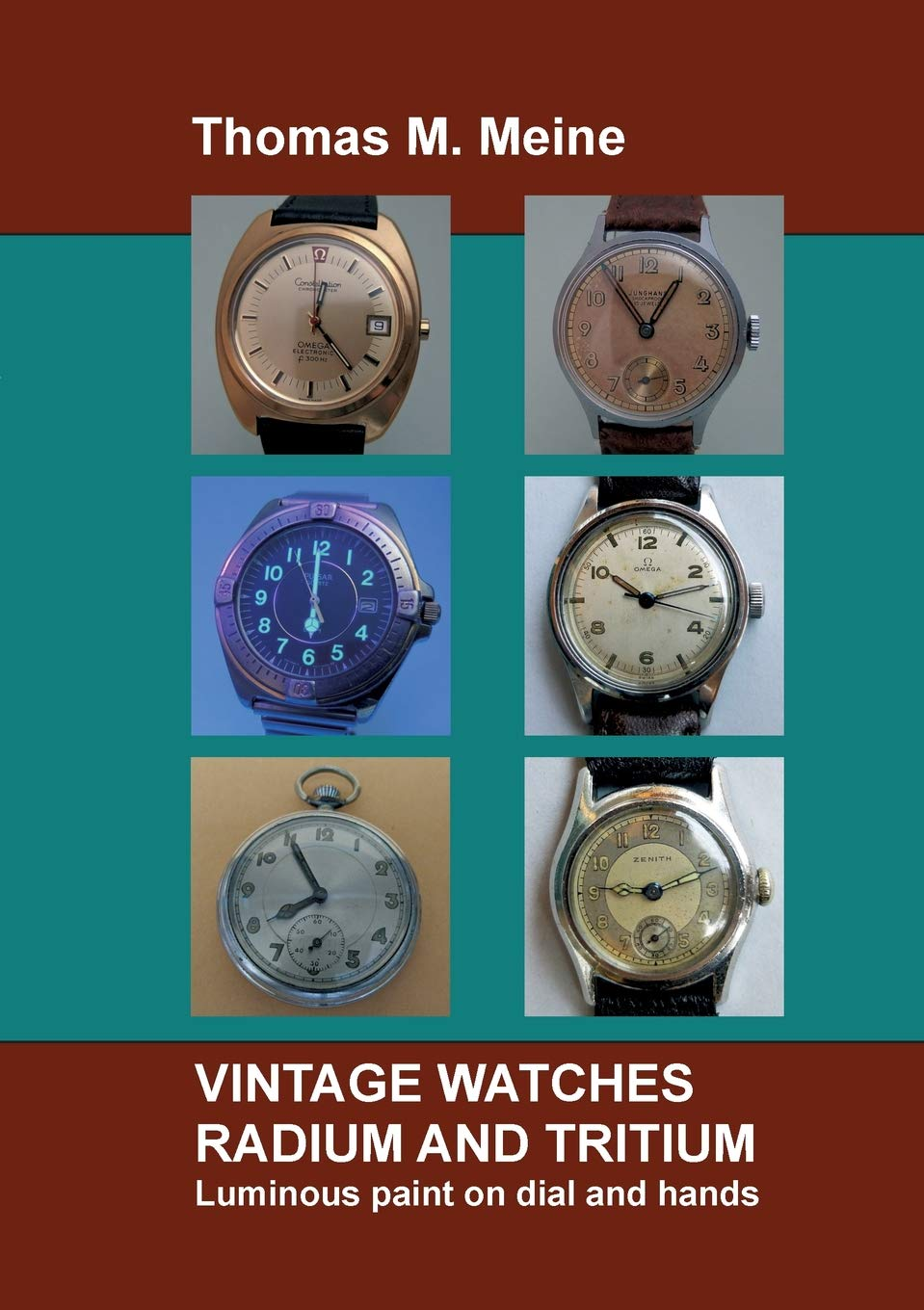 Vintage Watches - Radium and Tritium: Luminous paint on dial and hands