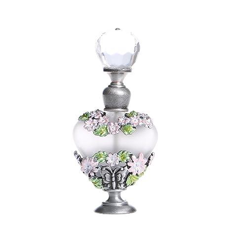 Botella H&D, para perfume, de cristal, vacía, recargable, de