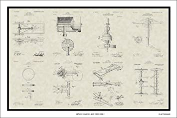 Amazon henry fords model t patent collection art print wall henry fords model t patent collection art print wall art gift ccuart Gallery