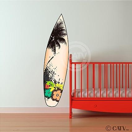 Adhesivo de vinilo para tabla de surf decorativo de vinilo para diciendo decorativo diseño con texto