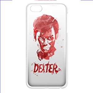 dexter tv series blood face for iPhone 5/5s White Case