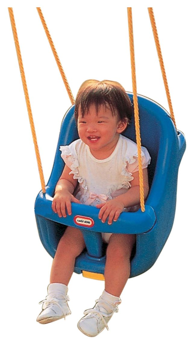 Little Tikes High Backed Toddler Swing Amazoncouk Toys Games
