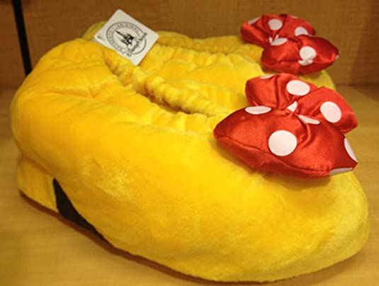 Disney Parks Minnie Mouse Heel Slippers