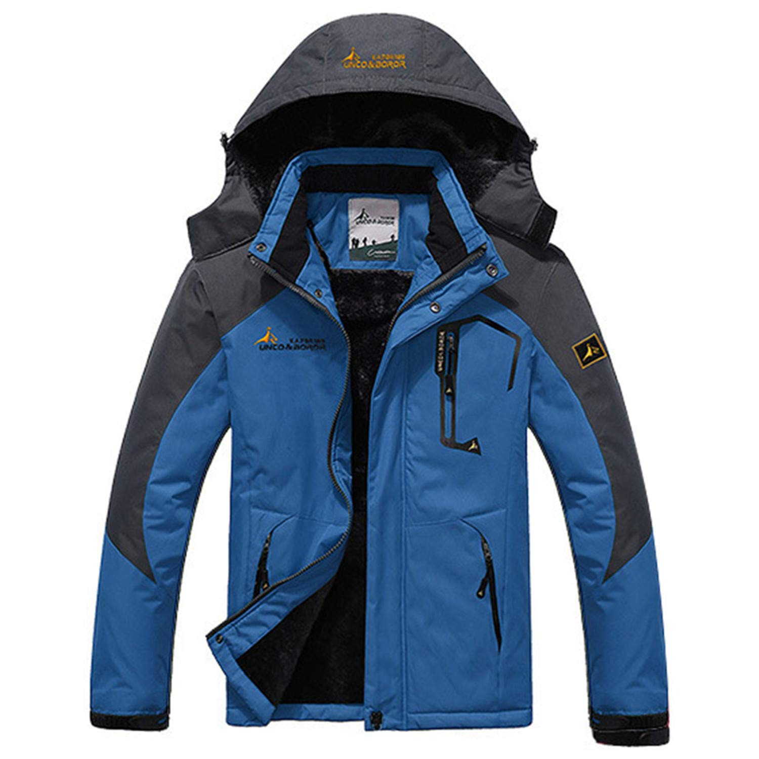 Mens Winter Jacket Men Waterproof Windproof Parka Male Snow ...
