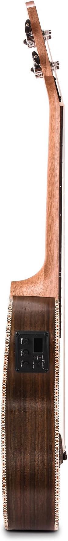 Caramel CT500 Palisandro Tenor eléctrica y acústica Ukelele ...