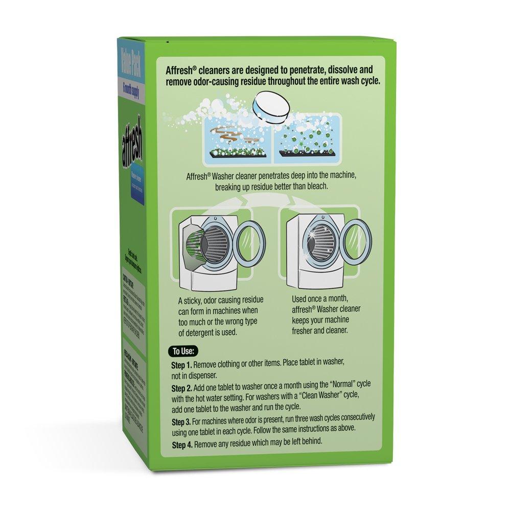 Affresh Washer Machine Cleaner 6Tablets 84 oz Amazonca Tools