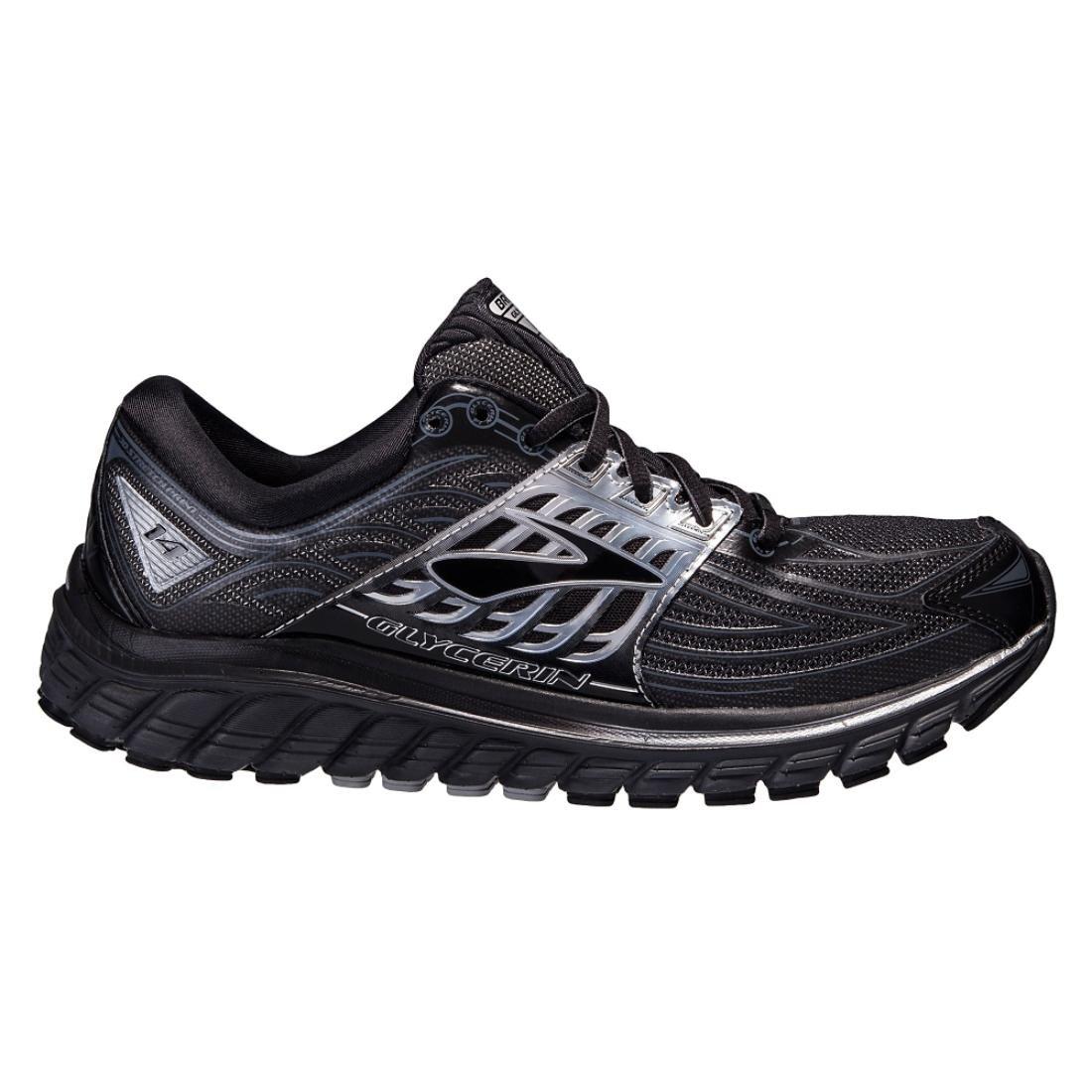Brooks Glycerin 14, Zapatillas de Running para Hombre 49.5 EU|Black/Anthracite/Silver