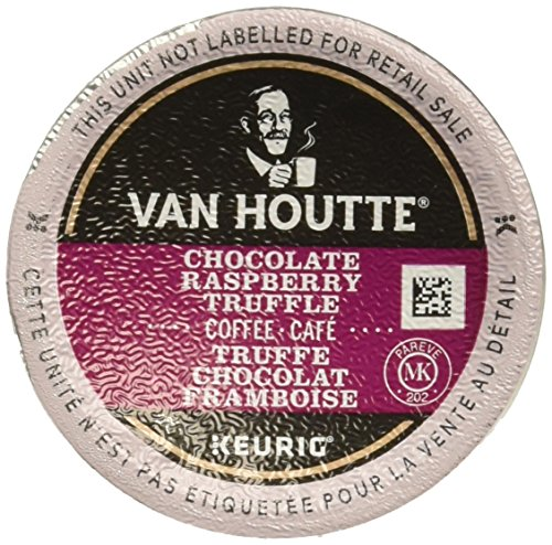 Truffle Choc - 48 Count - Van Houtte Raspberry Chocolate Truffle Coffee K Cup For Keurig K-Cup Brewers and 2.0 Brewers