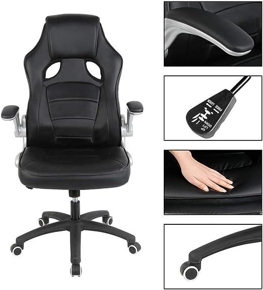 ZSYUN Silla Europea 1pc Oficina ergonómico Confortable Juego