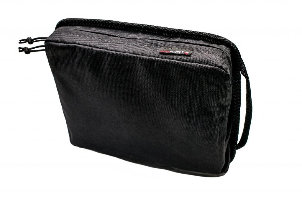 MOTO POCKETS-Pannier/Top Case, 11''x 9'' Solid Front. Storage-Organizer Bag