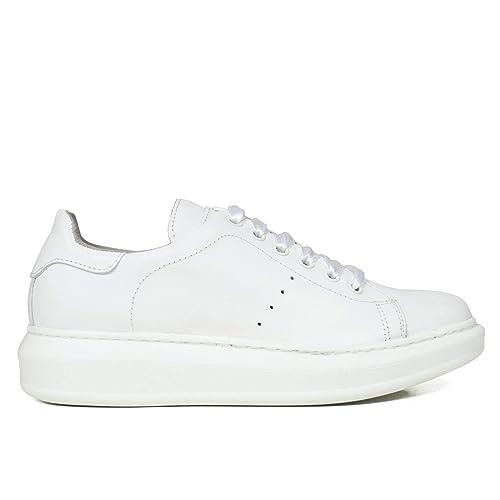 Zapatos miMaO. Zapatillas Piel Mujer Hechos EN ESPAÑA. Sneakers Mujer Plataforma. Zapato Cómodo Mujer con Plantilla Memory Foam: Amazon.es: Zapatos y ...