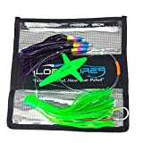 Lobo Lures Carolina Skip Jack Daisy Chain & Lure Bag Bluefin Tuna Slayer
