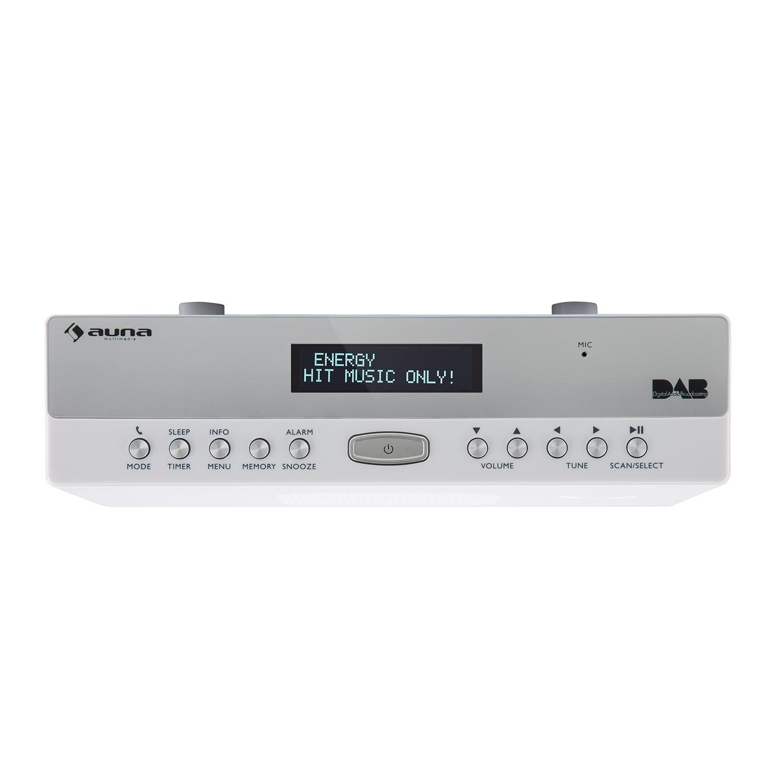 auna KR-100 DAB WH • Küchenradio •: Amazon.de: Elektronik