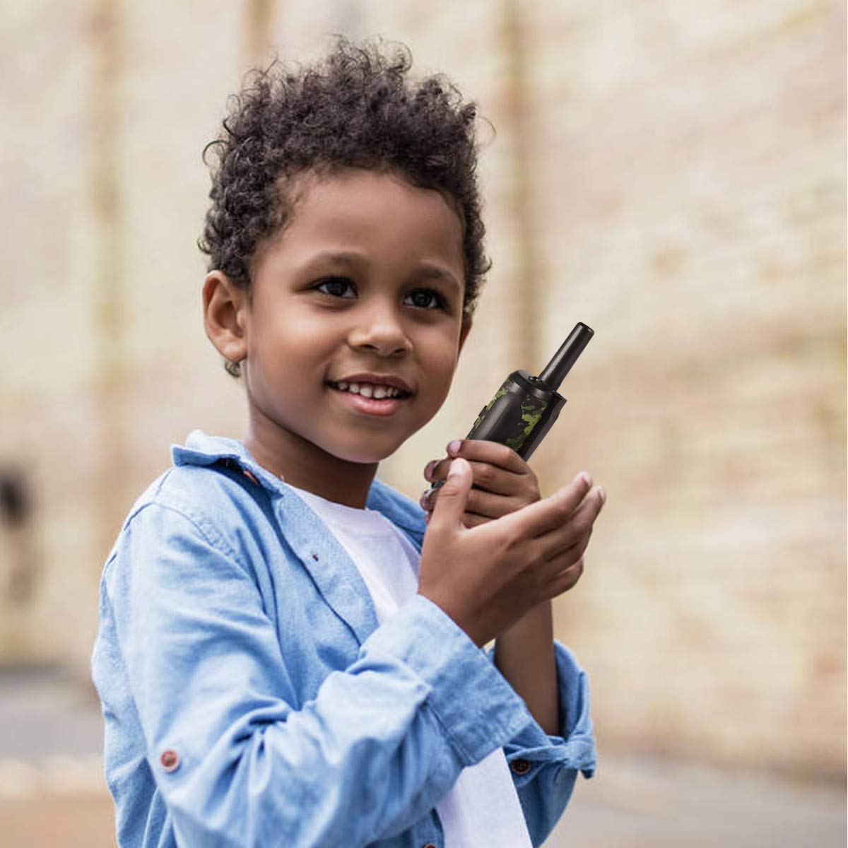 Walkie Talkies for Kids, Toys for 3-12 Year Old Boys 22 Channel 3 Mile Long Range Kids Toys and Kids Walkie Talkies, and Top Toys for for 3 4 5 6 7 8 9 Year Old Boy and Girls by UOKOO (Image #5)