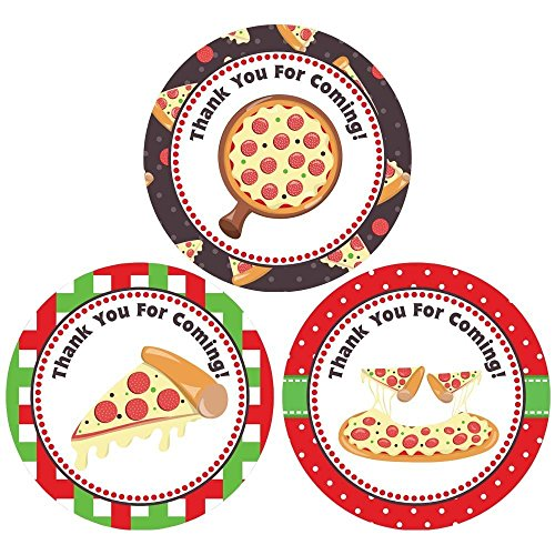 pizza-thank-you-sticker-labels-kids-children-birthday-party-favors-packaging-supplies-set-of-30