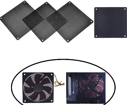 Chytaii 4pcs Filtro de Polvo de PVC Malla para Ordenador ...