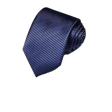 Amazon.com: Corbata para hombres/traje camisa morada a rayas ...