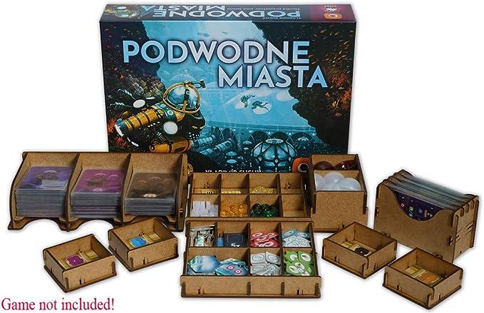 docsmagic.de Organizer Insert for Underwater Cities Box - Encarte: Amazon.es: Juguetes y juegos