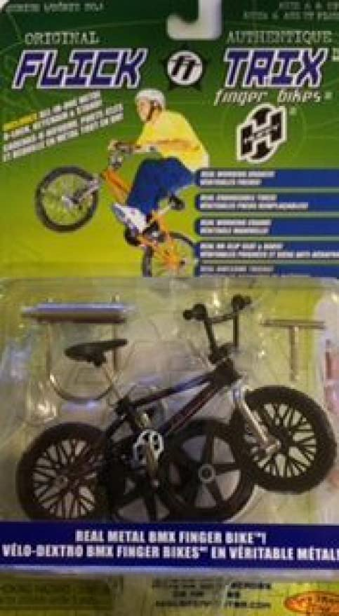 Amazon.com: Flick Trix – de dedo bicicletas: huffy- negro ...