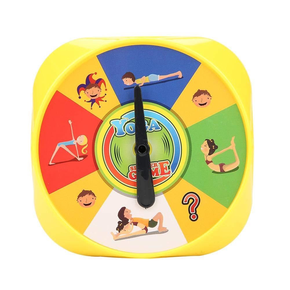 Juego de Mesa de Yoga 54Pcs Juguetes educativos de la Tarjeta de Pose de Yoga ayudan a los niños a Mejorar el Enfoque,Aumentar la Fuerza y la ...