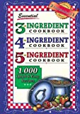 img - for Essential 3-4-5 Ingredient Cookbook book / textbook / text book