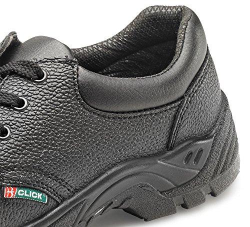 Click Dual Density Full Grain Safety Shoe 08