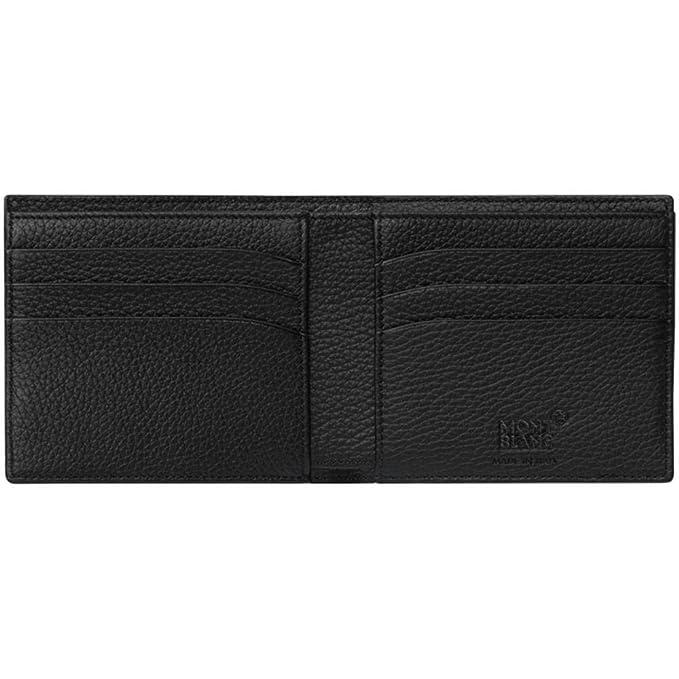 Mont Blanc 118752 Meisterstück Soft Grain Cartera 6 CC piel 11,5 x 8,5 cm Negro