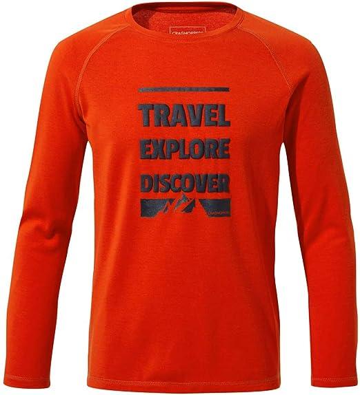 Craghoppers Adventure Trek Long Sleeved Camisa Beb/é-Ni/ños