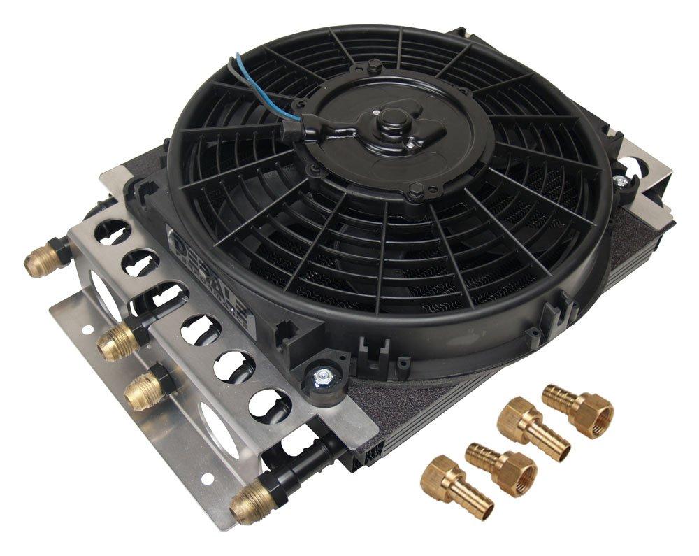 Derale 15200 Electra-Cool Remote Cooler Dual Circuit 2 in 1 Design