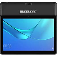 DUODUOGO 4G LTE 10,1 Pulgadas Android Tablet PC Android 7.0, OTG, 2GB de RAM, Disco Duro 32GB 8500mAh Batería - Pantalla IPS HD 1280 800 Pixel WiFi Tablets Phablet