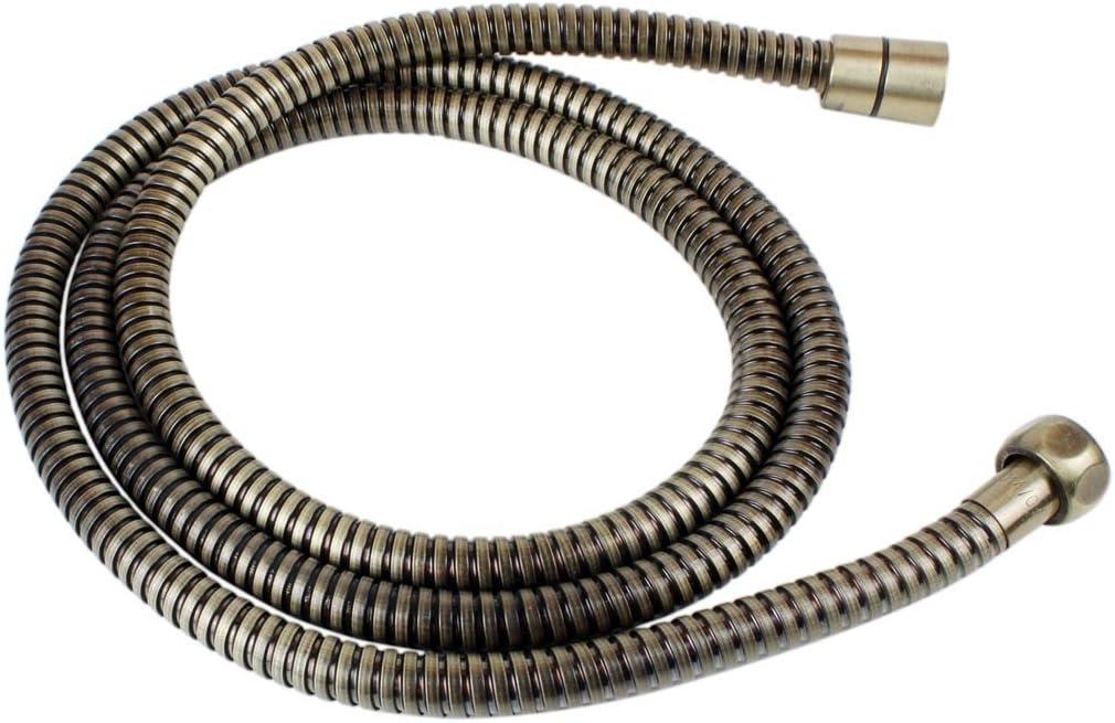 Bronze Brauseschlauch Nostalgie Qualit/ät Duschschlauch mit einem standart 1//2 Zoll Anschluss Schlauch Metall Bad 170 cm Steam Punk Dusche Retro Rostfrei 1,7 Meter